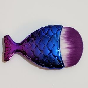 Round head mermaid fishtail brush